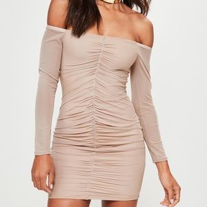 Brand new with tag Off  Shoulder Scrunched Dress